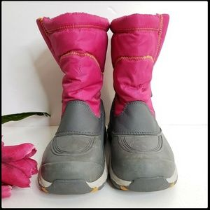 Land's End Woman Winter Snow Boots Size 6 Pink